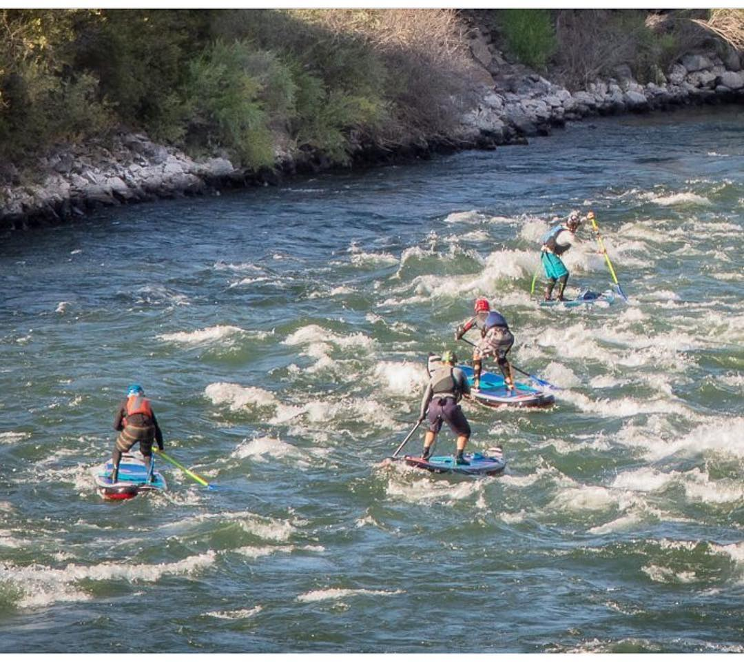 Wave trains on the Deschutes!