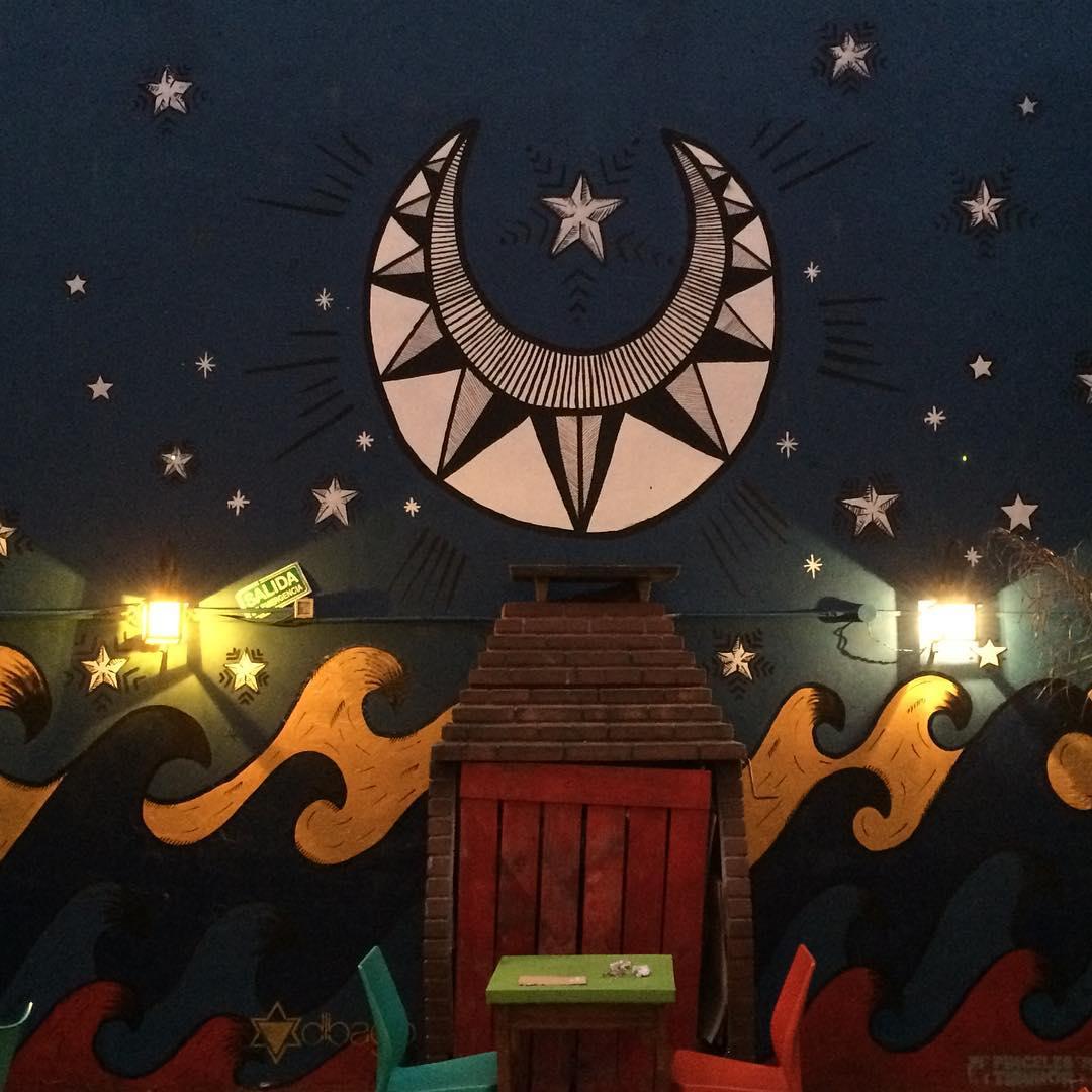 Terminamos, se sueña otro sueño! #darte #mural #lunaticos