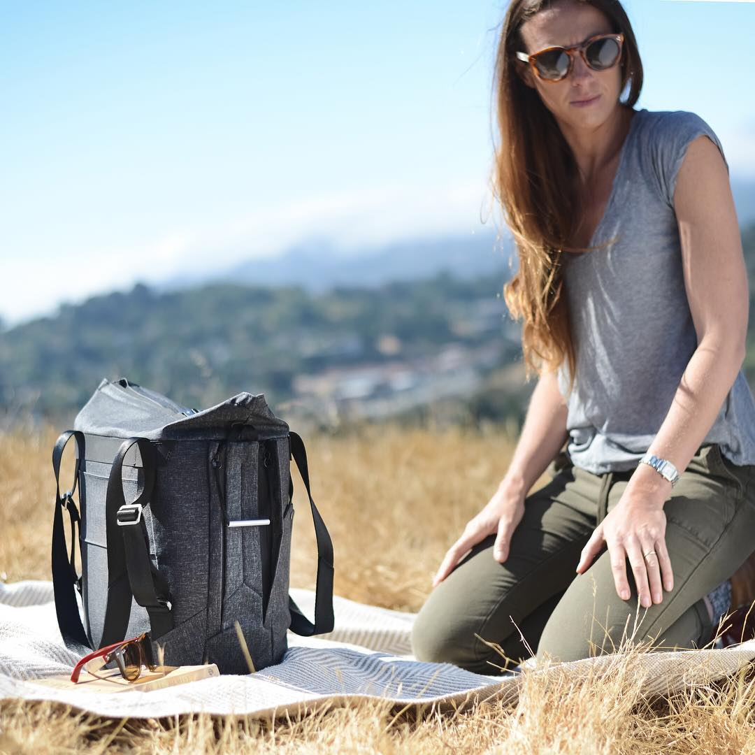 The Everyday Tote brings organization, accessibility, and ruggedness to a bag type that has been waiting too long for some real excitement. #pdkickstarter16 #findyourpeak