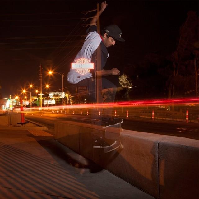 Kelvin Hoefler - Fs Smith em Las Vegas. Foto: Ana Paula Negrão. #qix #qixskate #skateboardminhavida