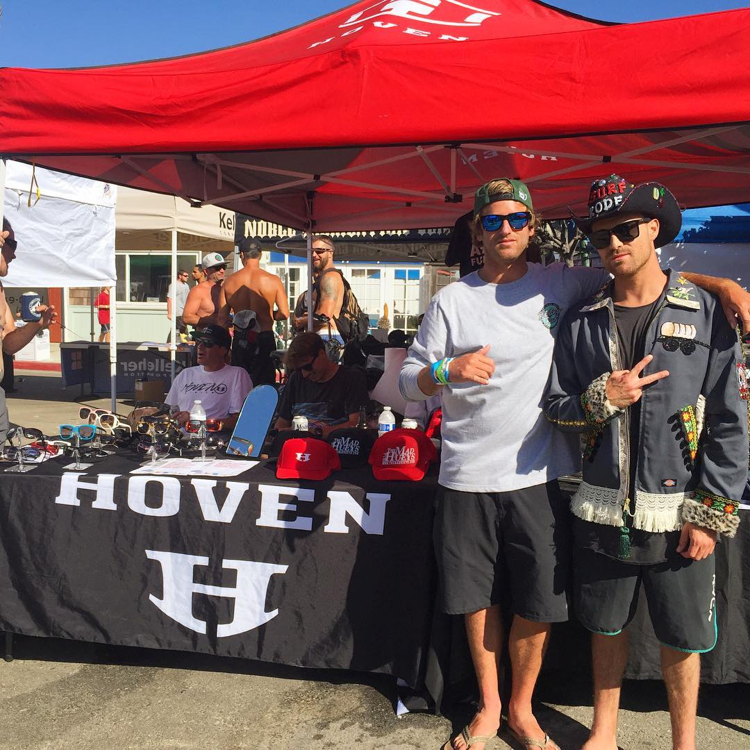 Big congrats to Hoven team rider @cory_arrambide for wining the Pro division of the @surfrodeo in Ventura  #whatsyourvision #805 #ventura #surfrodeo #bixby #hovensurf