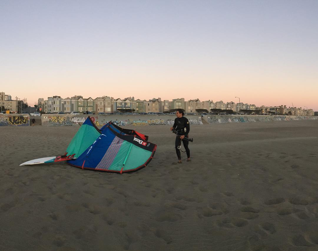 SF weekends // ready for the week and looking forward to our #samplesale on Wednesday with @bestkiteboarding 4-7 at our shop