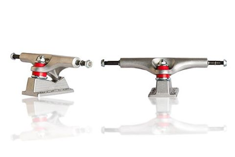 "Our friends at @wheelbasemag have brought their ""Tried and True"" product reviews to the web. Head over to their site and check out what they have to say about our 169mm #ParisStreetTrucks. #paristrucks #wheelbasemag"
