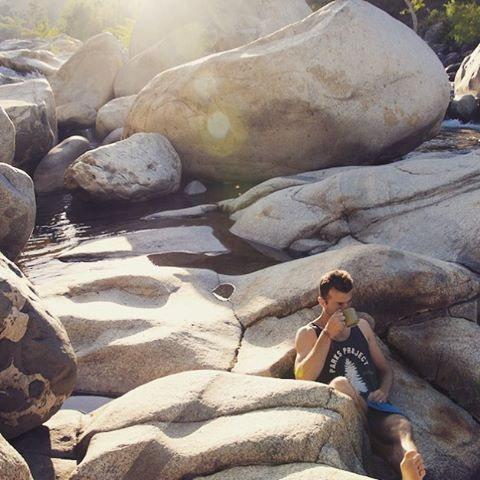 BEST PART OF WAKIN' UP hope your weekend #radparks adventures were just as awesome as ours #rivercoffee #sequoianationalpark #parksproject #goparks #nps100