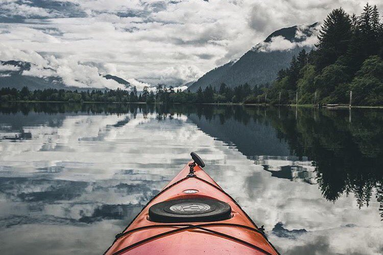 @carson_m_q explores the peaceful expanse of @olympicnationalpark