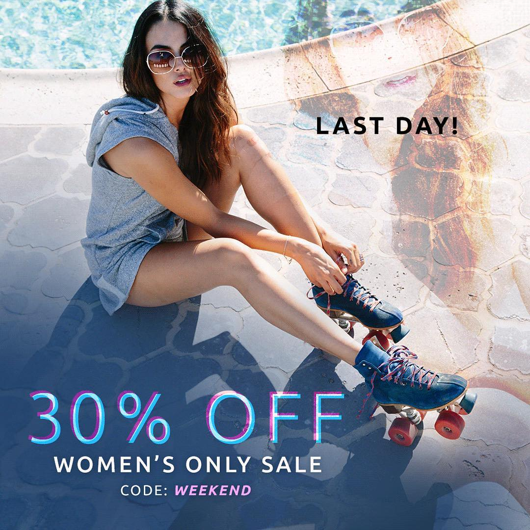 Last chance to shop our #weekend sale!