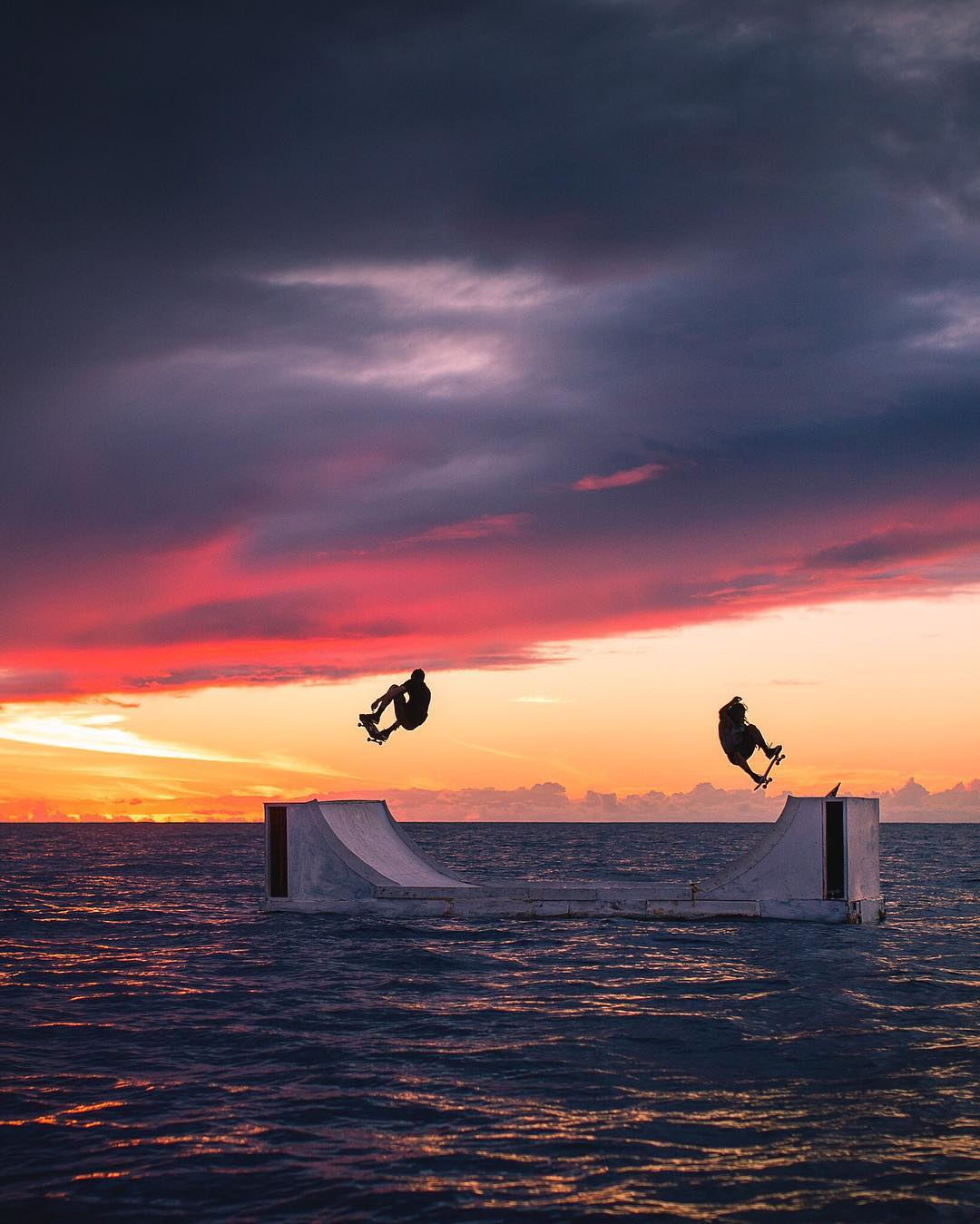 Whatever floats your boat…or halfpipe.