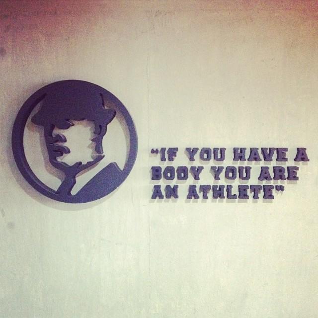 Oficinas de Nike y sus salas de espera @nikesnowboarding #argentina