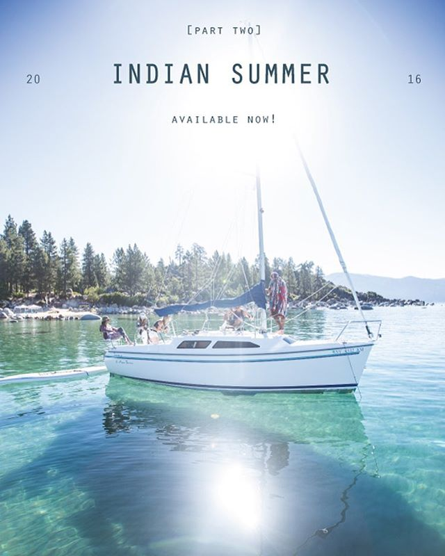 A few new arrivals just hit the website. New styles and a restock of our staples. May the Indian Summer commence. _ #thisistahoe #tahoemade