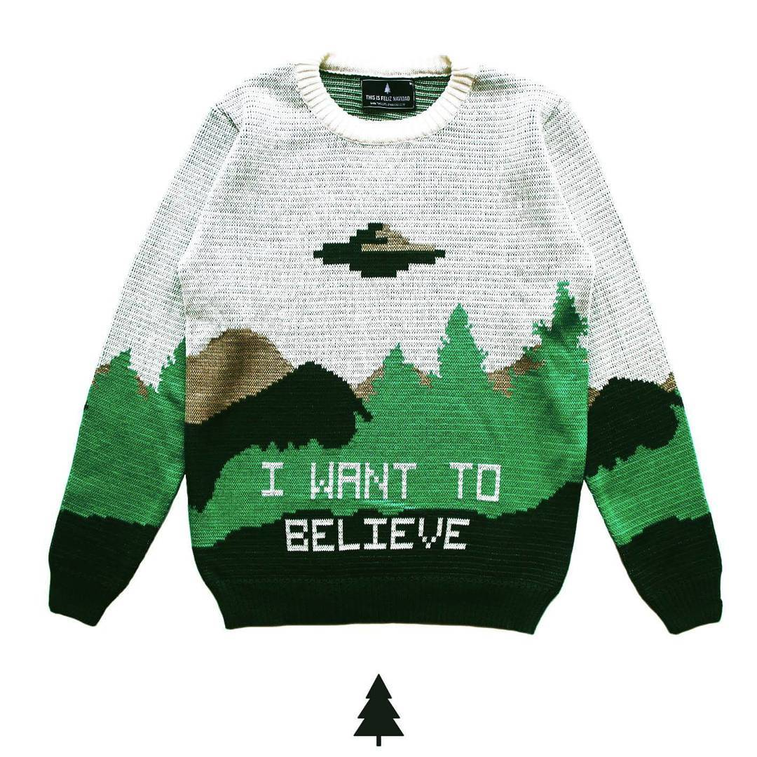 I Want To Believe Sweater ¡preventa abierta!