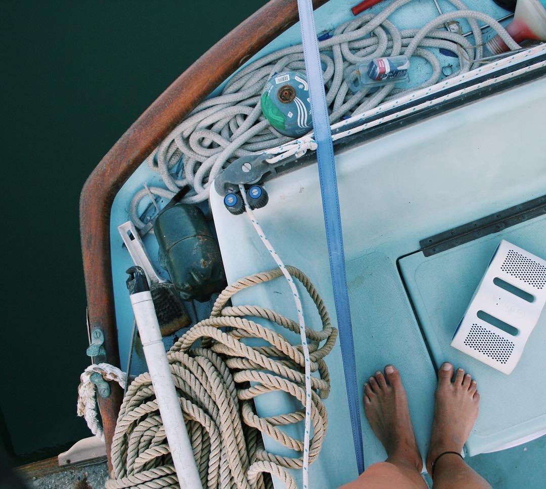 Float away with the #NYNEaqua. #lifesoundsgood #sailaway #sailing #summer #nyneaudio
