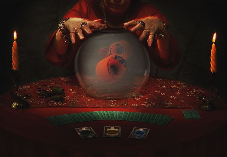 Where do fortune tellers dance? At the crystal ball.  #Orangatang #Stimulus