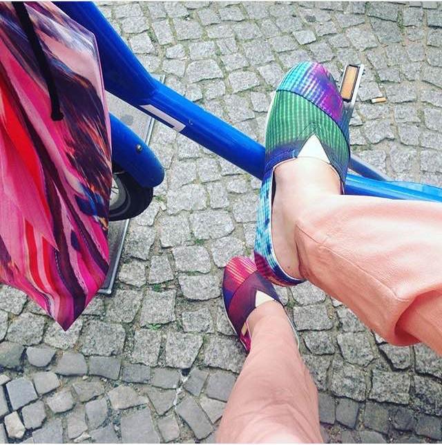 Special Editon para @vanesakrongold #presskit ! #WeLove ❤ #paezshoes #paezfriends paez.com / paez.com.ar