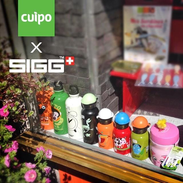 @siggswitzerland Cuipo bottles seen in Paris, France. #paris #sigg #cuipo #saverainforest #reusable #green #productsthatsaverainforest
