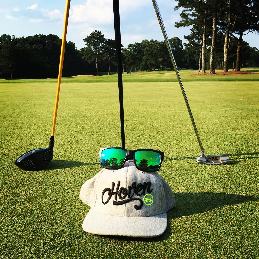 Business off the tee... Party on the green #whatsyourvision #hovenvision #alwayssunblocking #neverfunblocking #justbusylivin #nolayups #golfballed