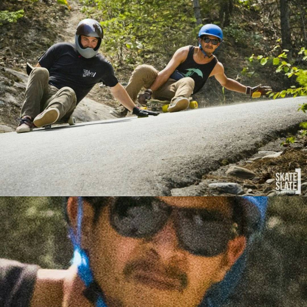 Apparently the smell of urethane spray behind @chubbaluv doesn't please #LoadedAmbassador @ethancochard nostrils at #GiantsHeadFreeride  Partially Ethan's fault since he is just sitting around like every boyfriend that has been dragged to Forever...