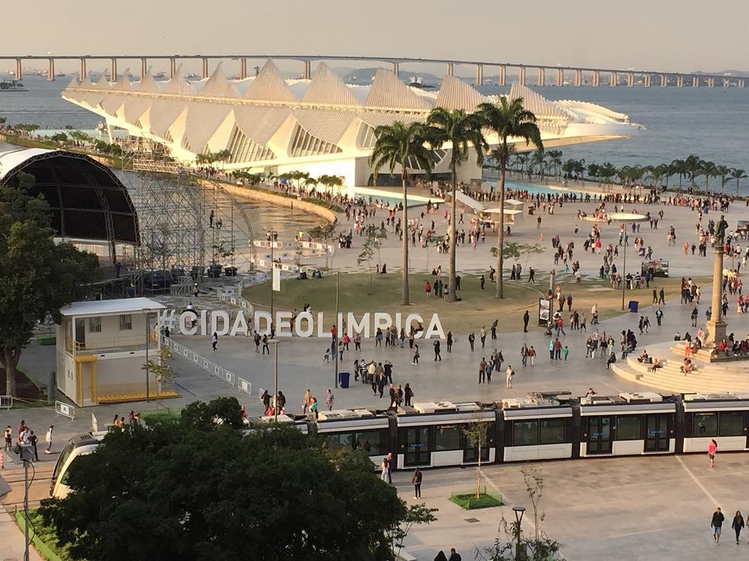 #CidadeOlimpica #Rio2016