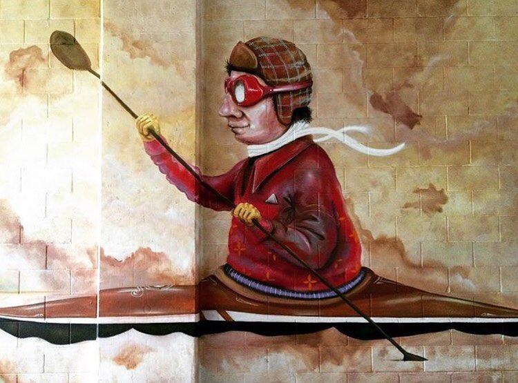 @lucasaokiart • • For @zilkronthepark • • #lucasaoki #spratx #art #mural #painteverything