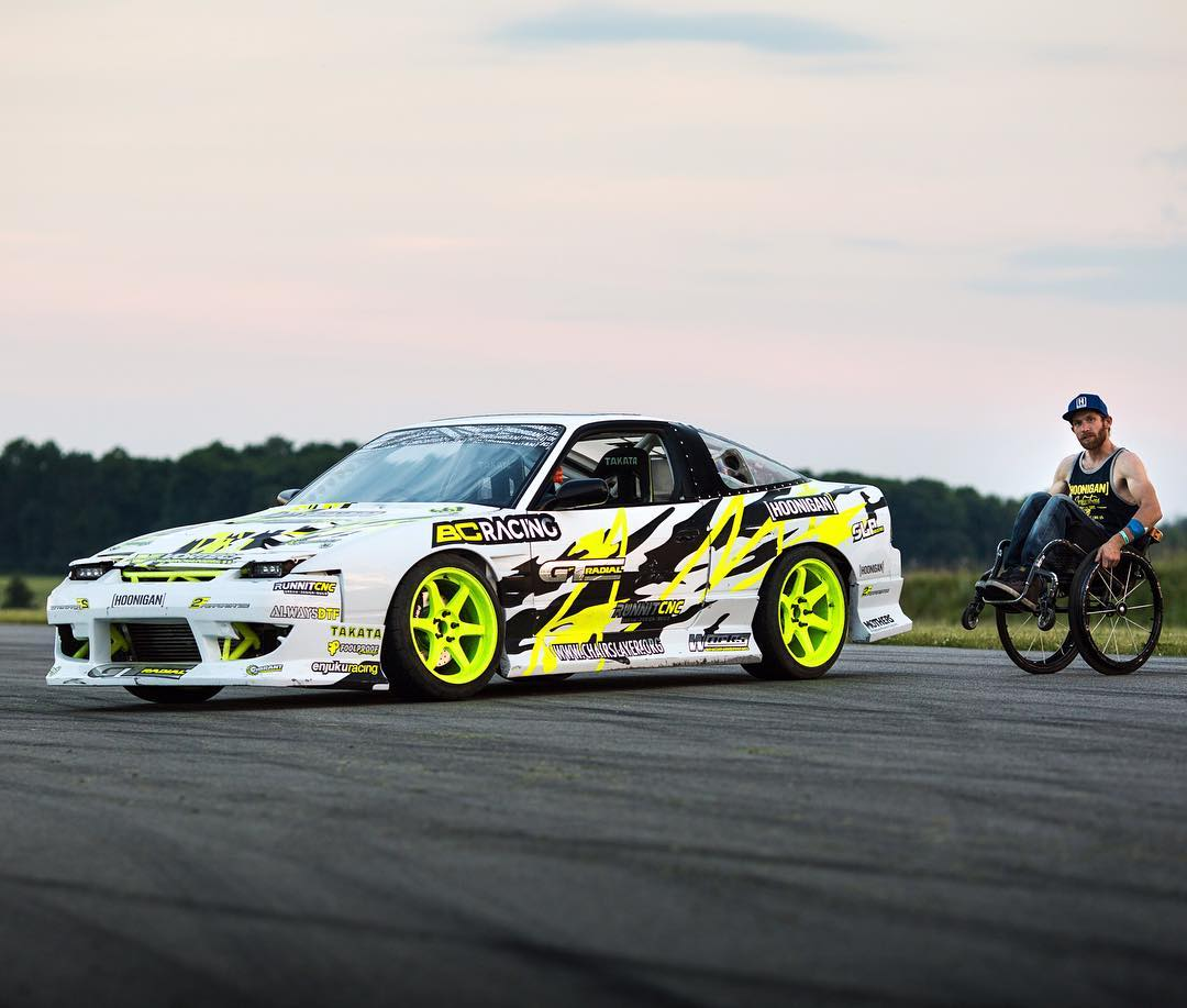 The legendary @chairslayer - We're excited to see him and his 600hp sled shred Road Atlanta during @tothegrid's 3 day automotive music festival next month! #supporthooniganism