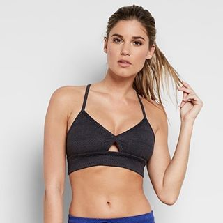 One pattern, two different colors, two different styles. Featuring the Medena Sports Bra & Shyann Short.