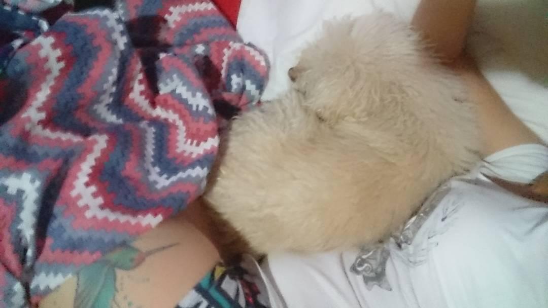 Emm nena la cama es chica