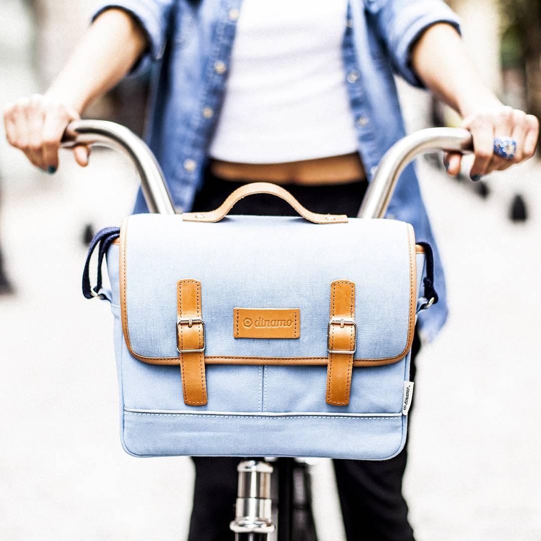 Modelo Coghlan > Del color del día. Un bolso que se adapta a tu bici. #dinamo #biker #ciclismourbano