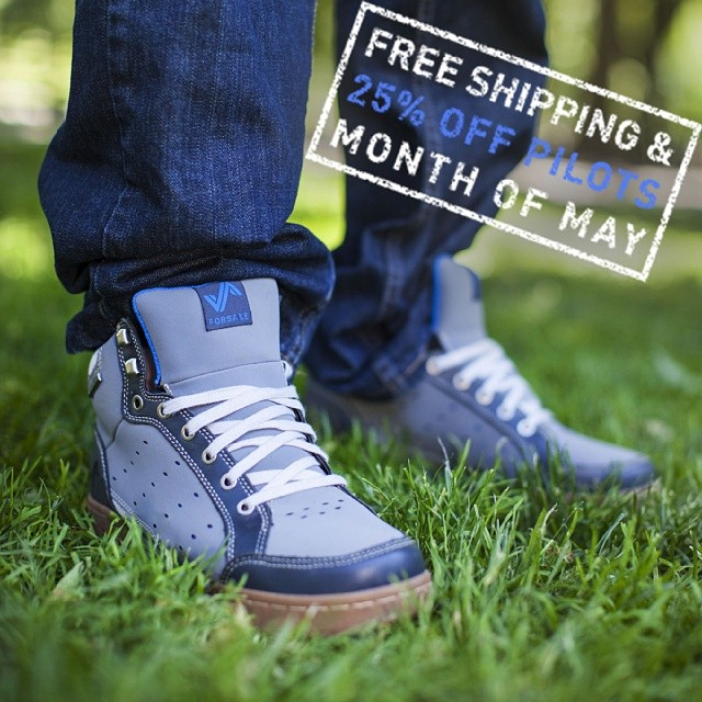25% off both Pilots and free shipping on all orders for the month of May on forsake.com! Start off your spring with some fresh #adventureworthy kicks!