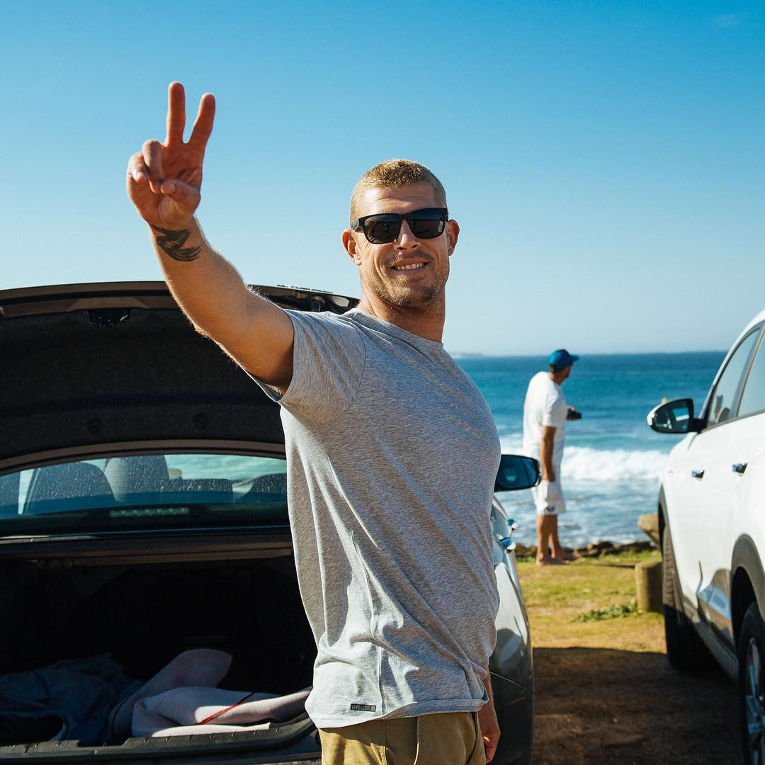 Peace out to JBay from @mfanno. Couldn't have gone much better and here's to the rest of the year.