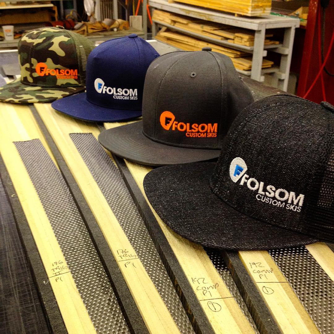 #skicores do a great job displaying our new line of hats. #madeintheusa #ballcap #carbonfiber