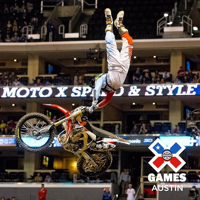 Five weeks & counting down to #XGamesAustin! #tbt