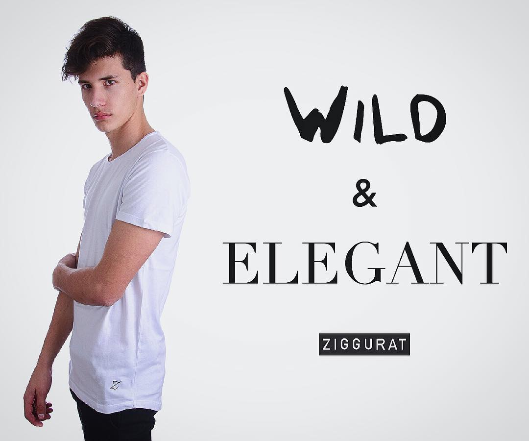 BE wild & elegant. [Remera Der LongFit] shop now