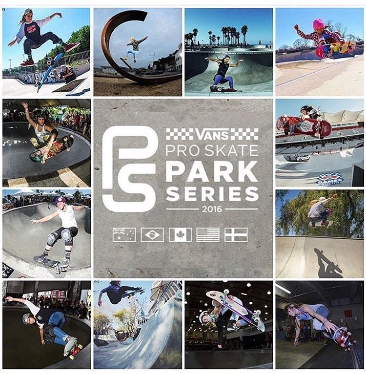 Check out the link in @girlisnota4letterword bio to find out all you need to know about the ladies competing in the @vansparkseries next week.