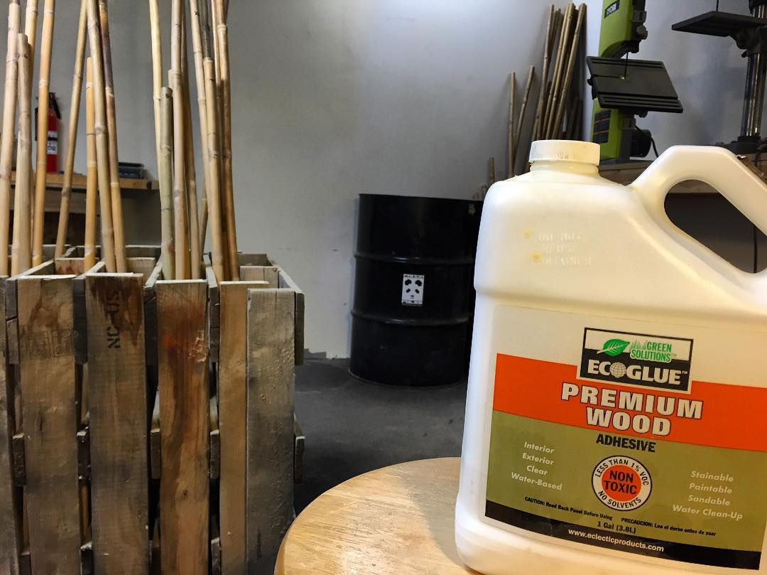 We have recently switched to a new adhesive, and we are stoked to say that it's performing better than any other product we've ever tested! Water based, with almost zero VOC's 'Eco-Glue' is our new go-to for fixing cracks and attaching hardware......