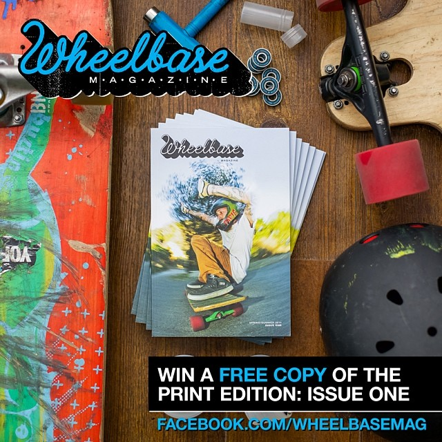 @wheelbasemag is giving away an issue a day in the month if May! Head over to their Facebook page to sign up #freeawesomness #GetRad