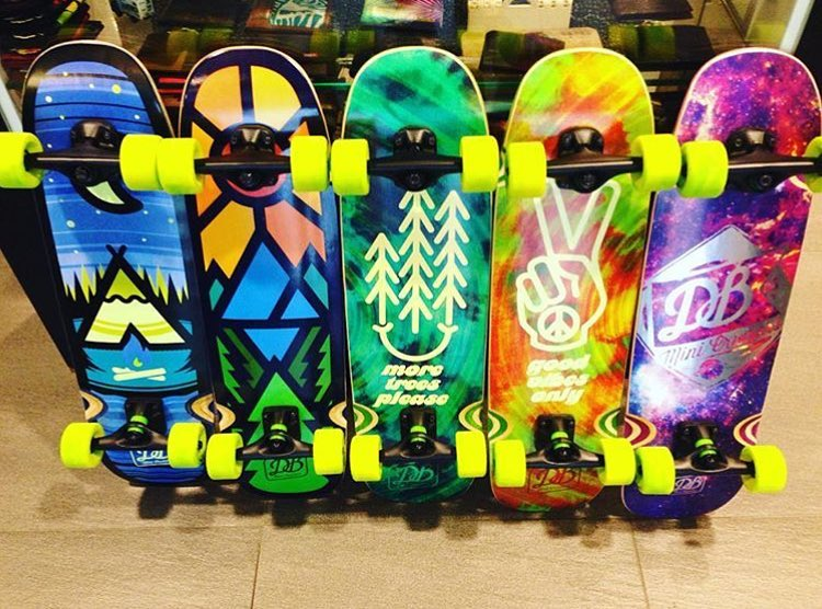 Our Mini Cruisers are now available at @awskate in Taiwan along with a bunch of our other boards!  #dbmini #skateboard #dblongboards #dbskateboards