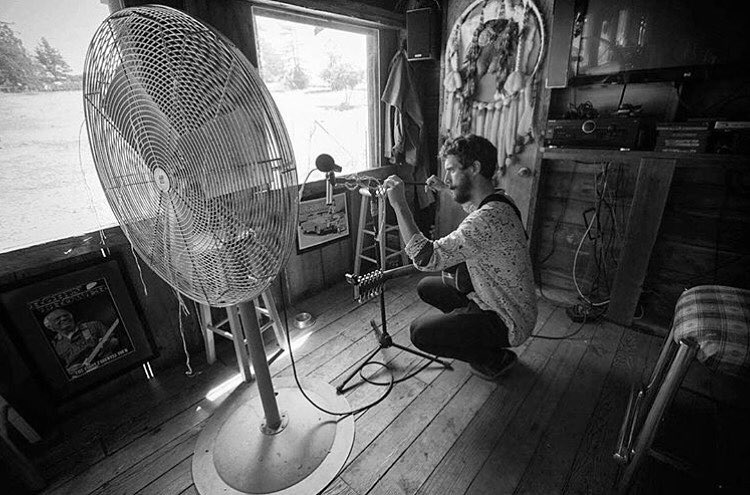 "#ElementAdvocate @kepamusic recorded through this massive fan for some good old fashioned DIY vibrato >>> Find out more and listen to his new music project ""The Tone of Sebastopol"" documented by @b_gaberman now on Kepabandcamp.com"