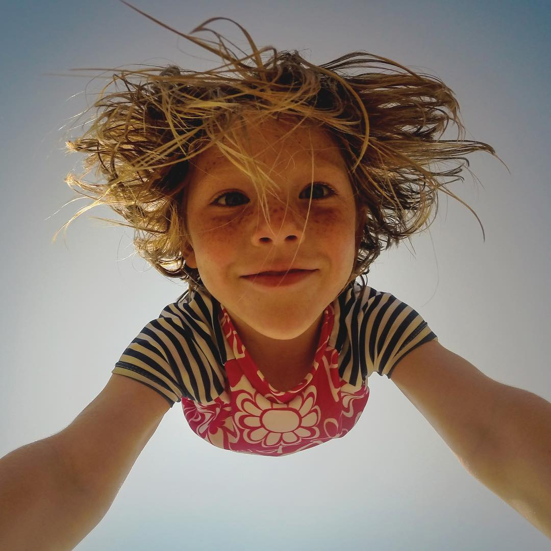 Featured Photographer: @rgreen13  About the Shot: I snapped this photo of my cousin Addison on a family vacation in the #OuterBanks, a narrow Island off the coast of #NorthCarolina. She just started to explore gymnastics and I wanted to make sure to...