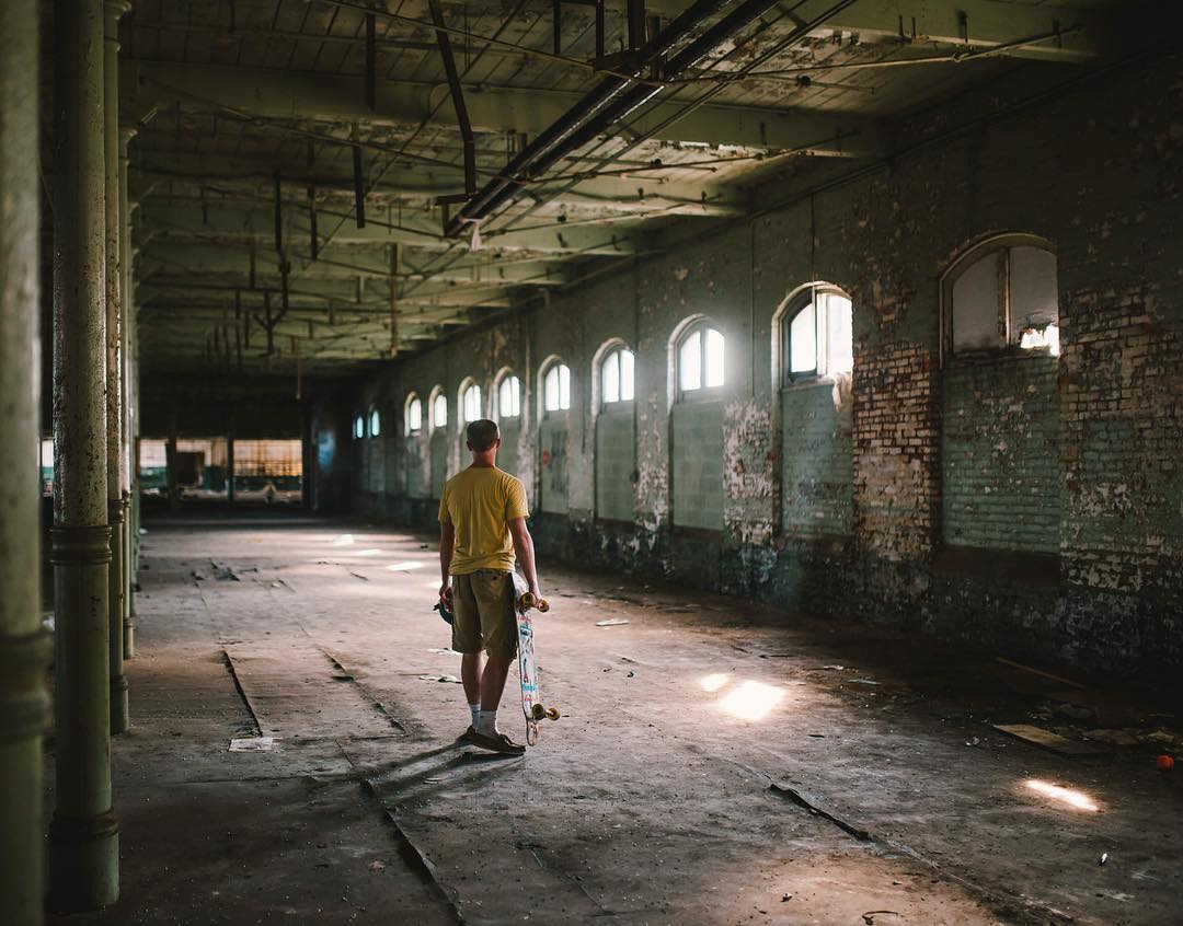 Skateboarding can take you many places. #OrangatangAmbassador @alex_explore180 explores abandoned structures in order to find peace.