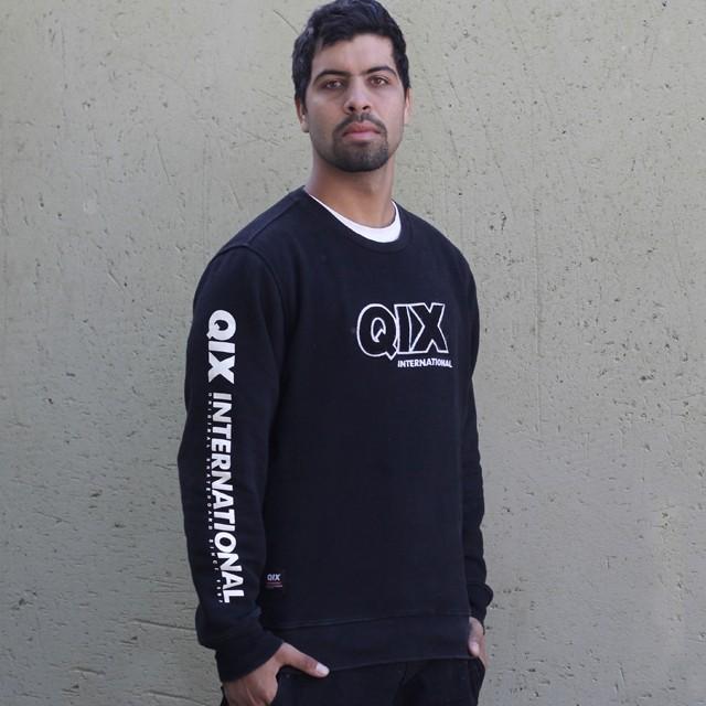 Moletom Black Hood, pra aquecer o rolê! Moletom Black Hood - LOJAQIX.COM.BR #qix #qixskate #streetwear