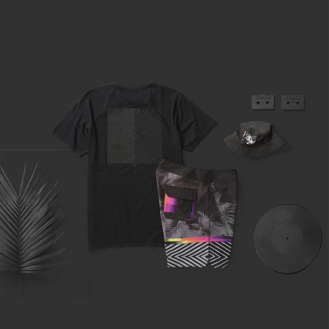 Billabong Garage Collection- Black Paradise