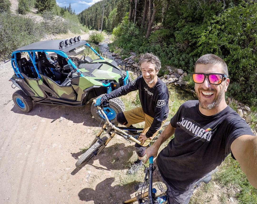 I travel most of the year, so I'm trying to get in as much mountain fun time as possible here in #ParkCity right now! Today's fun: sketchy/tough downhill mtn. biking shuttle runs with this guide: Noah Brandon. I originally know Noah because he was a...