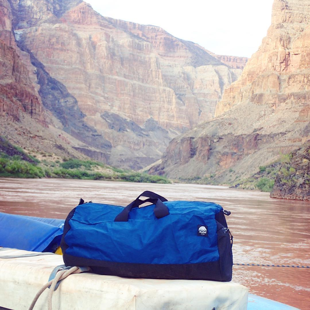 """We spent 6 days rafting the Colorado river in the Grand Canyon with our new #Flowfold duffles.  100 degree plus weather, 40 degree water, tons of rapids, everything stayed dry.  Thanks for helping make it the trip of a lifetime."" -@tpcid . Grab a..."