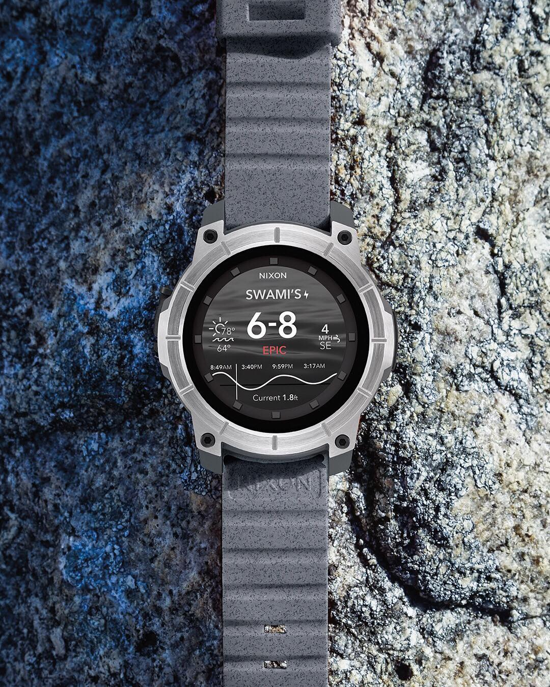 Built smart and built tough, the #Mission can withstand the elements so you can take it with you anywhere: in the water, on the hill, off road and beyond. Available this fall. Stay in the know at nixon.com/mens-smart.