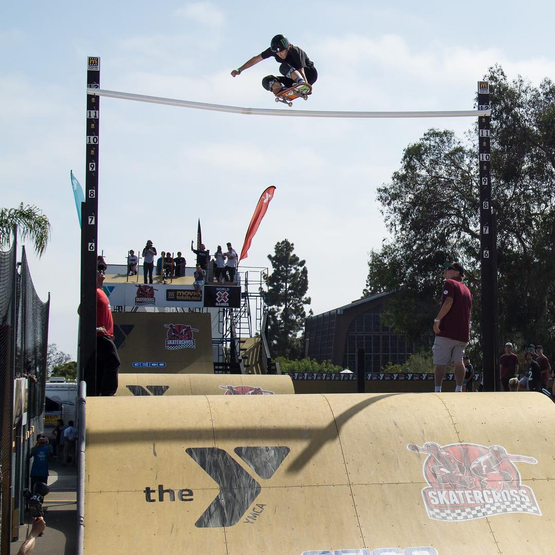 Our World of #XGames @SkaterCrossEvents Racing Recap Show will air TODAY at 2:30 pm ET/1:30 pm PT on ABC! (