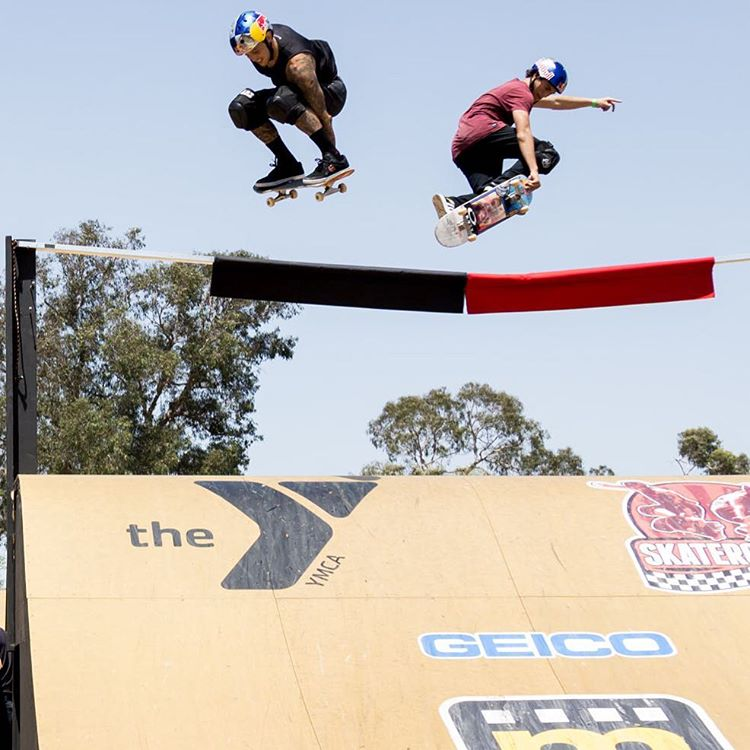 Our World of #XGames @SkaterCrossEvents Racing Recap Show is coming up at 2:30 pm ET/1:30 pm PT on ABC! (