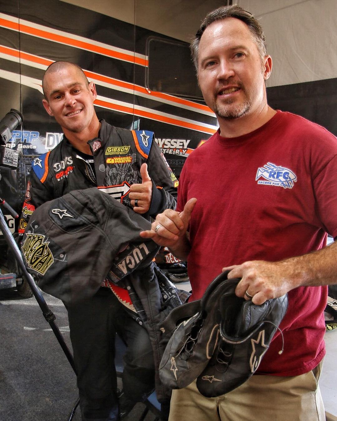 My friends at @3n1motorsports will be raffling off some of my driving suits tomorrow at 6 pm at Leducs pit. You can buy your tickets at the track or on the link in his bio. Don't have to be present to win. Proceeds go to a good cause. #teamrfc #rfc...
