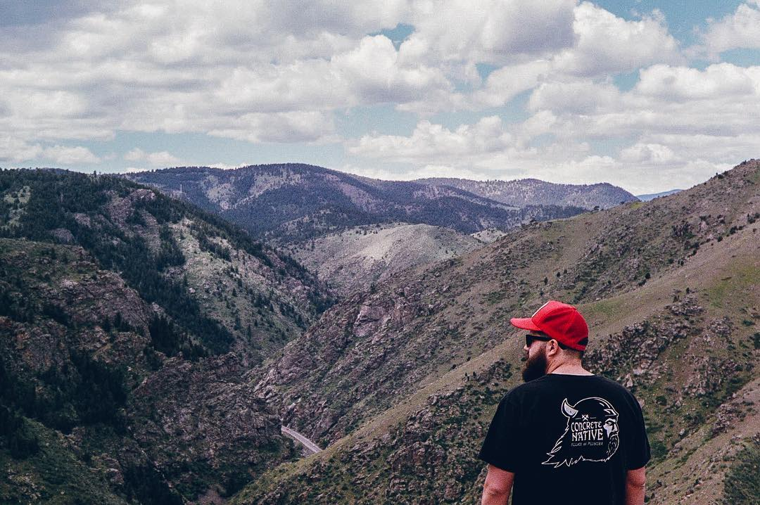 Take a break from the heat and check out Conquest No.7 - The Mile High Club on our website! Our co-founders' took a trip through Colorado and explored the idea of what it is to be Concrete Native. #concretenative #conquest #adventure #adventurelife...