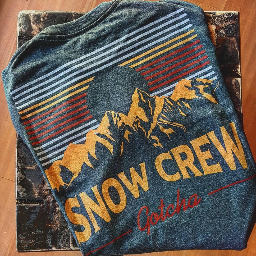 SNOW CREW Tee  #gotcha #iconsneverdie  #winter 2016