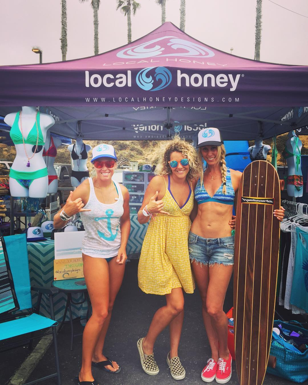 Join us Honey's at the Supergirl Pro event in Oceanside, Ca!!!! 20% off during the event, plus some secret sale items