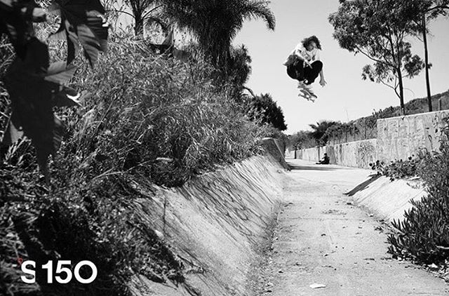 @starheadbody can find lines that are hidden to most, here he is kickflipping an untouched channel in the latest @theskateboardmag >>>